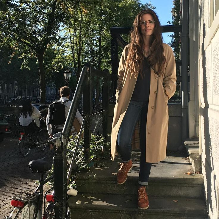 Our very own @evavonl of @tenuedenimes in the new Red Wing Women's collection. Eva is wearing the 3375 Moc Toe in Oro-legacy. All sizes, 34.5 untill 42, are available at http://ift.tt/180OFjM http://ift.tt/2d6E1nN