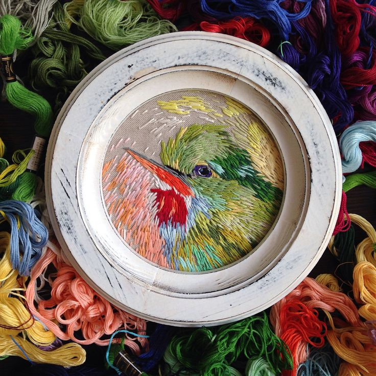 http://sosuperawesome.com/post/164509397899/embroidery-and-paintings-by-anna-zotika-on