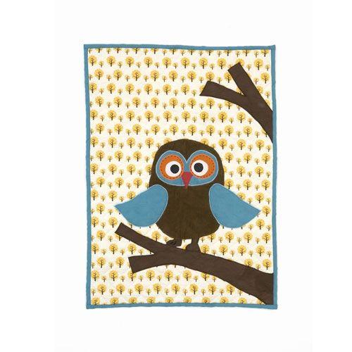 DESIGNDELICATESSEN - Ferm Living - Owl Plaid - pledd