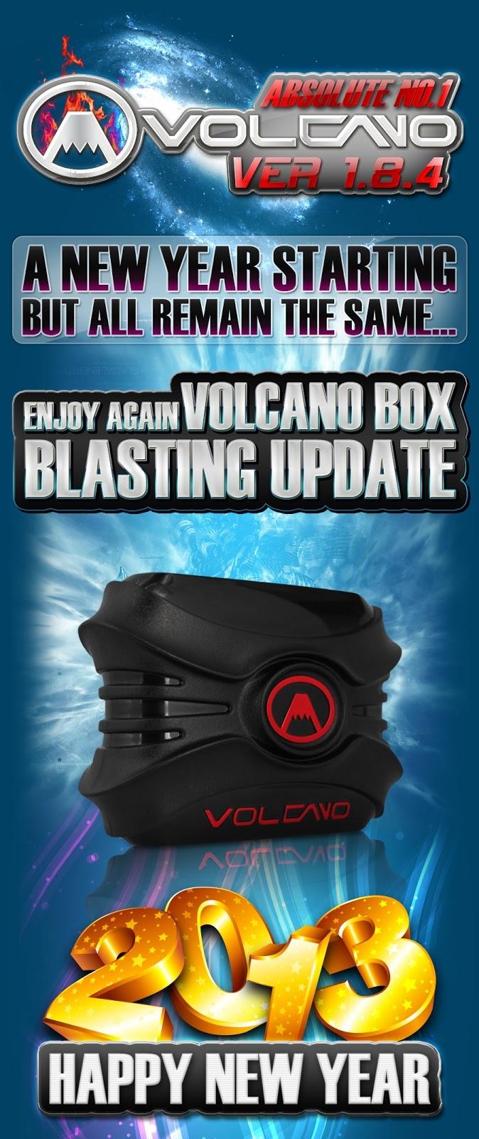 VolcanoBox 1st-Jan-2013 V1.8.4 | China Firmware