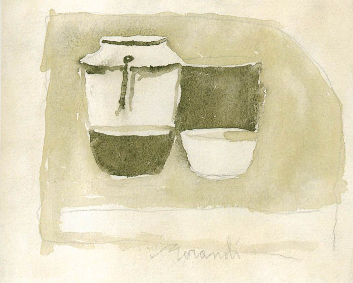 Giorgio Morandi (the master of empty space)