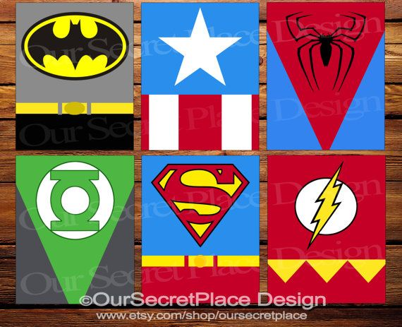 Superhero Canvas Superhero Wall Art Super Hero Room Decor Super Hero Decor Super  Hero Canvas Superhero