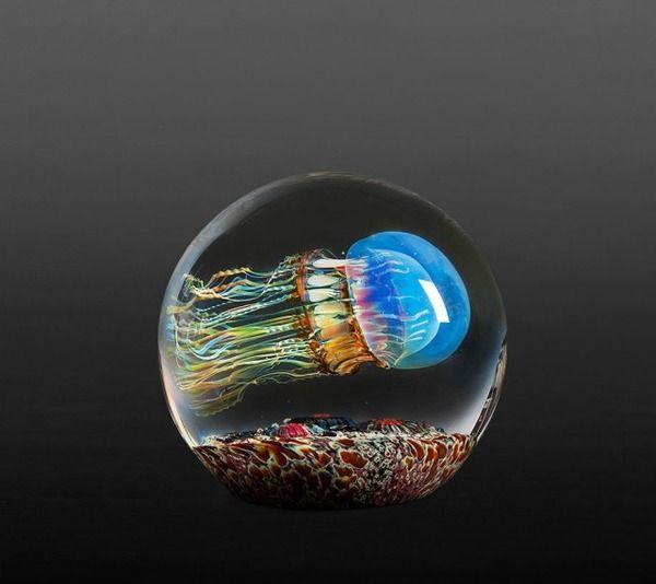 クラゲのガラスアート Richard Satava 4