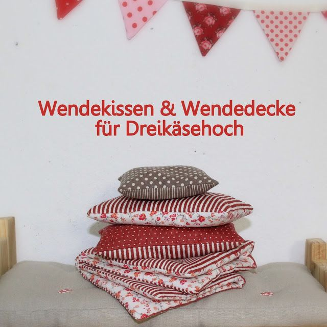 Barbaras Blumenkinder und Puppen Welt: DREIKÄSEHOCH GEHT SCHLAFEN *Folge 3* Bettwäsche fü...
