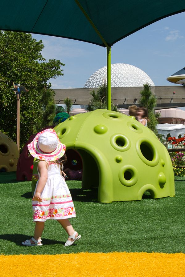 Foreverlawn Joined With Walt Disney World To Create Safe Attractive Landscaping And Play Areas At The Epcot Inter Synthetic Grass Foreverlawn Playground Grass