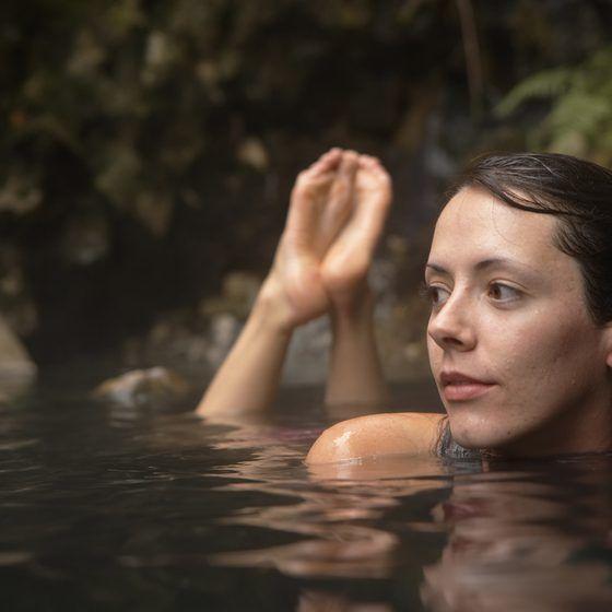 Underground Hot Springs in South Utah