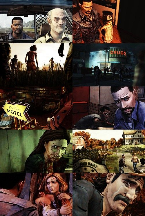 """Part one of Telltale Games episodic video game recreation of """"The Walking Dead""""."""