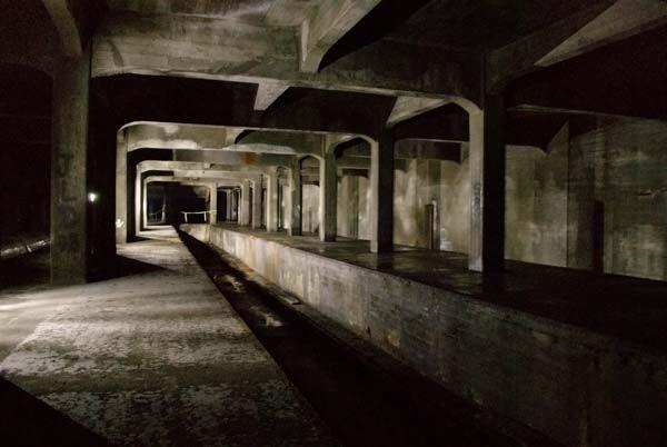 Incomplete Subway System, Cincinatti, Ohio.