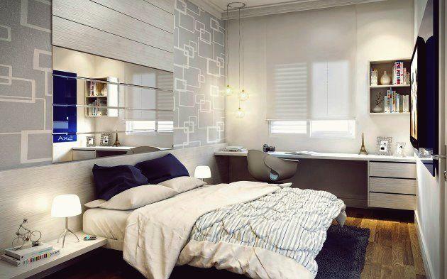 15 Qualitatslosungen Fur Ihren Arbeitsbereich Im Schlafzimmer Schlafzimmer Design Stilvolles Schlafzimmer Kleine Wohnungen Ideen