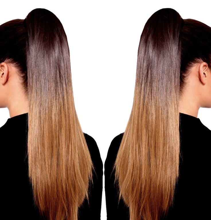 Ponytail ombré hair en cheveux naturels. Découvrez les queues de cheval en tie and dye à enrouler. Postiche en vrais cheveux sur-mesure: https://www.eva-extensions.com/extensions-naturelles/queue-cheval-ponytail-tie-dye-ombre-a-enrouler.html  #ponytail #queuedecheval #extensionsdecheveux #hairextensions #postiche #coiffure