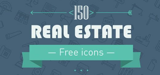 CLD Exclusive: 150 Gorgeous Real Estate Line Icons (PNG, SVG)