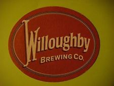 Beer Bar Pub Coaster  ^  Willoughby Brewing Company  ^  Willoughby, Ohio Brewery