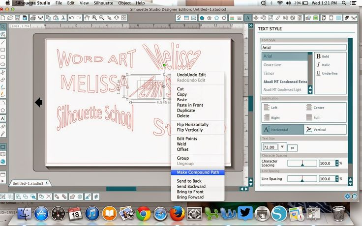 Silhouette Studio Word Art Tutorial ~ Silhouette School