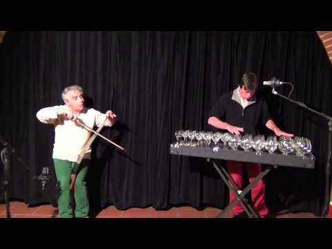 Swan - Musical saw & glass harp with Felice Pantone & Robert Tiso