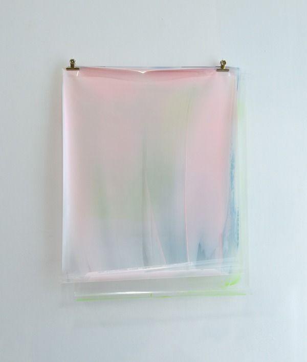 Matt McClune . hung painting