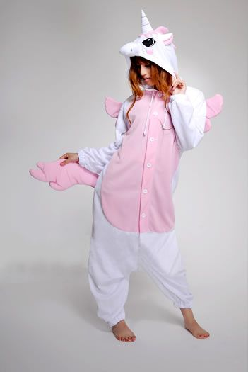 OMG unicorn onesie I just died happy haha XD