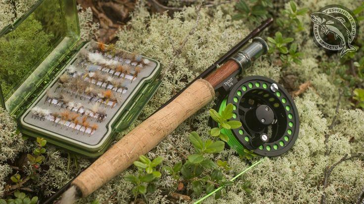 Kołowrotek muchowy Mikado Trout #5/6. #wędkarstwo #kołowrotek #flyfishing
