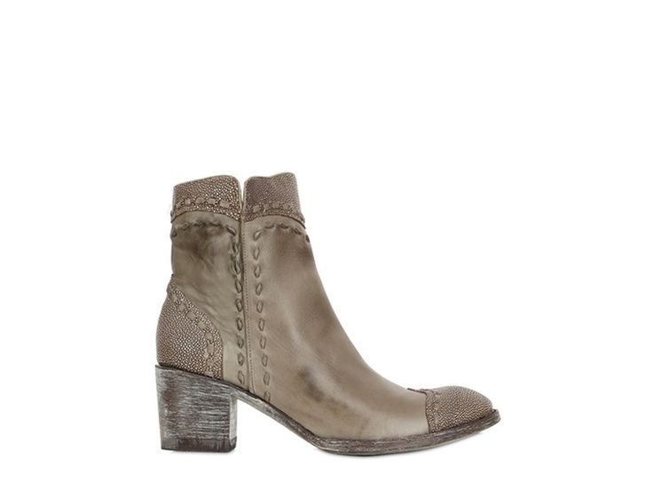Mexicana Boots Chaussures 1854 Cuir  Taupe, Chaussures