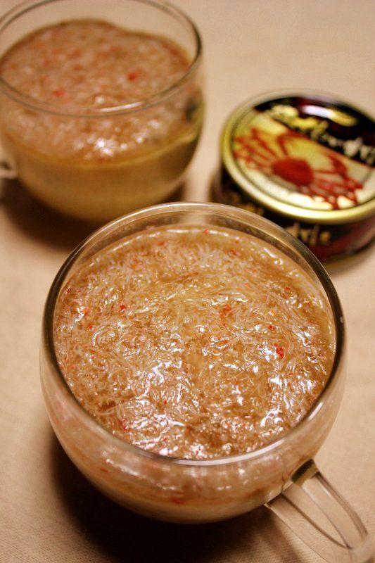 カニ缶詰で簡単★中華風かにあんかけ茶碗蒸し   広島のLIFE*田舎のLife