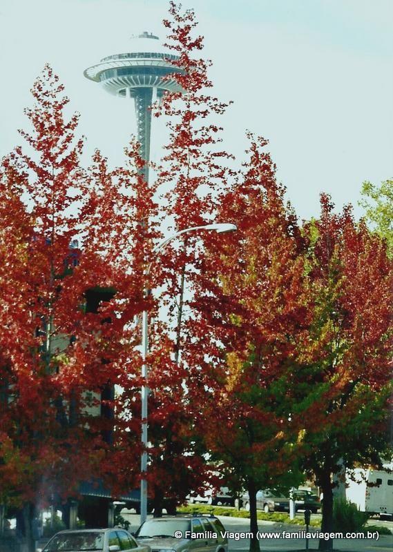 As cores do outono em Seattle | Família Viagem