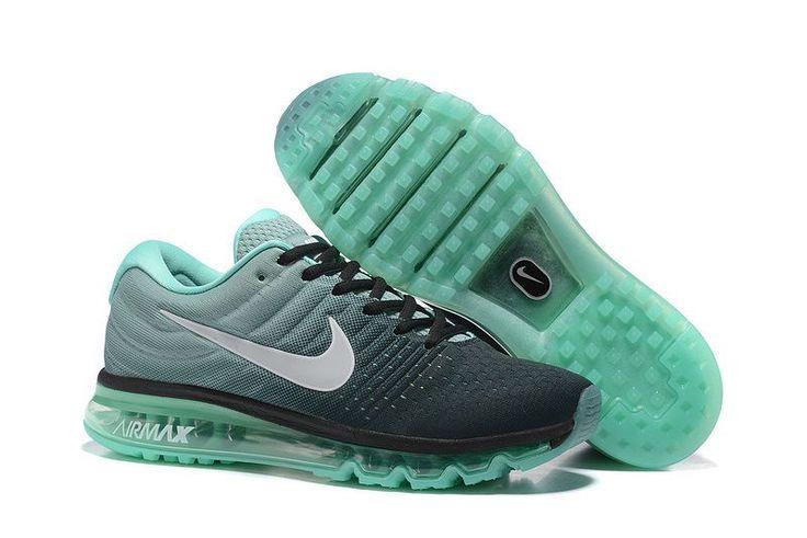 buy online b9ffa 99f64 Nike Air Max 2017 Men Blackish Green Mesh Shoes