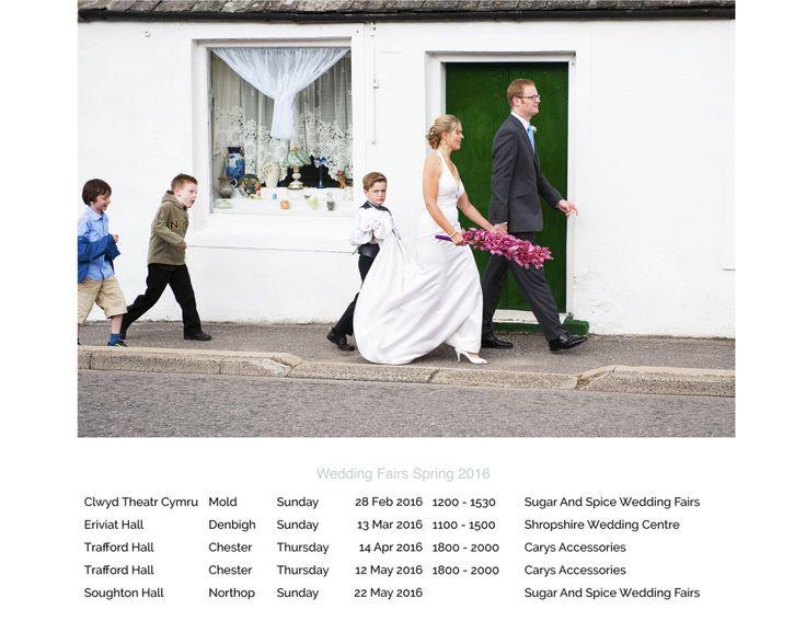 Wedding Fair 2016 Corinne Fudge Photography Eriviat Hall Trafford Theatre Clwyd Soughton Venues Old Chester Denbigh Wirral