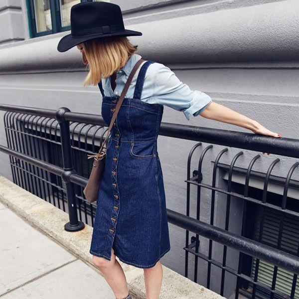 Look com jeans em dobro para o verão.