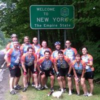 A couple of years ago I was looking for a challenge. I wasn't in the best of shape and really needed a good reason to start going to the gym. I looked around online and found a 270 mile bike ride that went from Boston to New York in the ridiculously hot month of July. Seemed like a good fit!