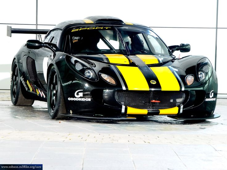 black and yellow combination of Lotus Exige