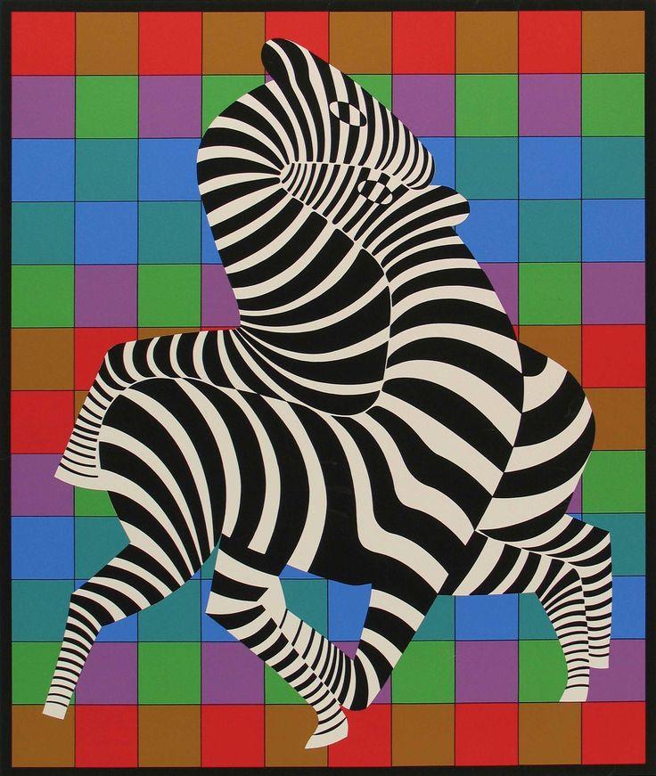 victor vasarely zebra - Google keresés