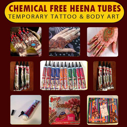 Golecha Henna Tubes - Instant Multi Color Henna Tube Temporary Body Art Mehandi✖️HAIR AND BEAUTY  :  HENNA SUPPLIES   / ‫حنا‎‬ / MEHNDI SUPPLIES / ‫‎‬ ‫‎‬ ‎‫حِنَّاء‎‬   ✖️FOSTERGINGER AT PINTEREST ✖️