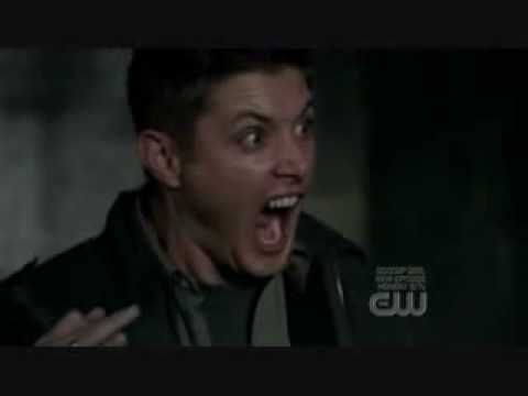 """Yellow Fever"" Dean screams at a cat. I <3 this episode. So freakin funny"