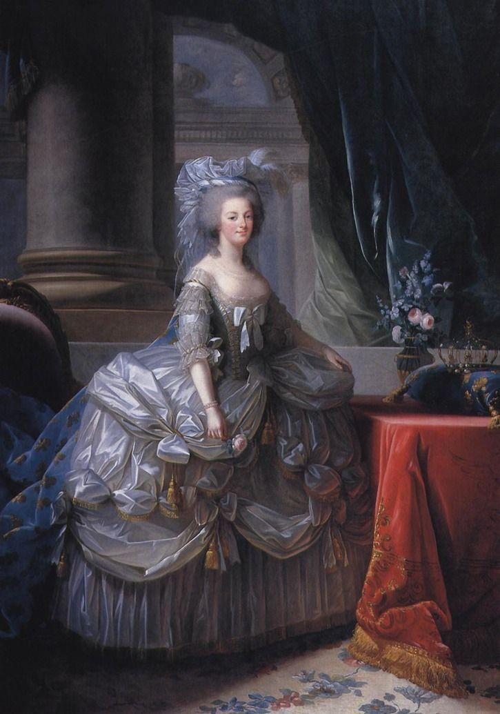 nice 1779 Marie Antoinette by Elisabeth-Louise Vigee-Lebrun (Kunsthistorisches M…