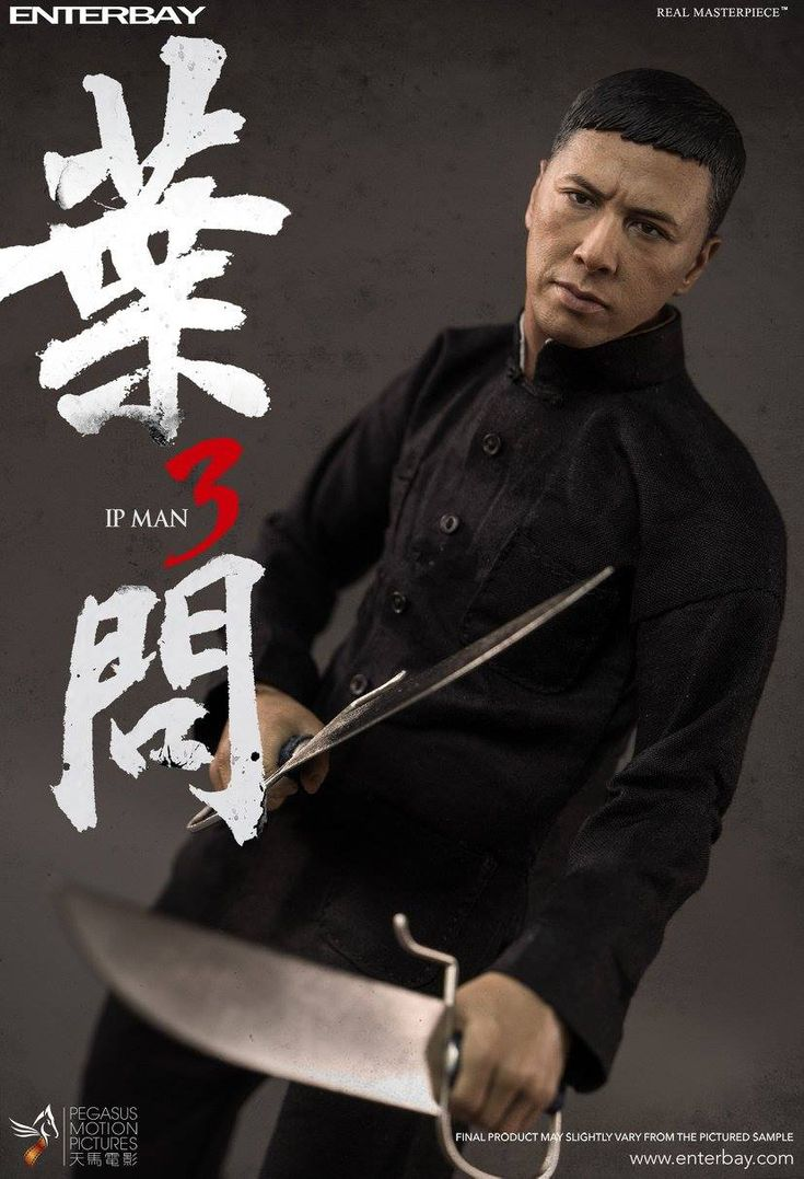 Enterbay - Ip Man 3 - Ip Man (Donnie Yen)