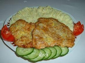 Hozzávalók: Kb. 60 dkg csont nélküli karaj vagy comb 2 tojás 3-4 kanál liszt só,bors Zsiradék a sütéshez. A húst ujjnyi vastag ...