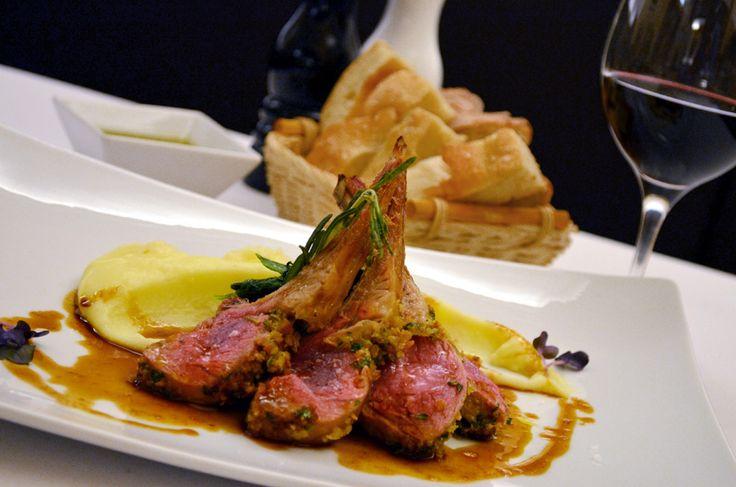 Restaurant Bresto - new menu 2017 - SADDLE OF LAMB