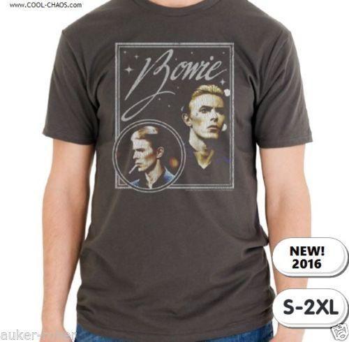 Sound Vision David Bowie T-Shirt / Men's Rock Tee