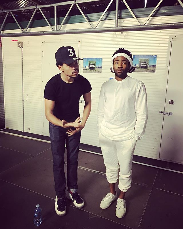 These guys chance the rapper(left) and Childish Gambino (right) also two of my favorite artist