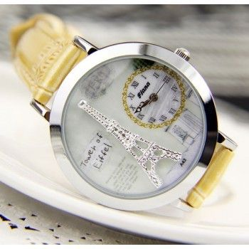 Romantic Dimensional Fimo Eiffel Tower Fashion Watch just $19.99 only in ByGoods.com