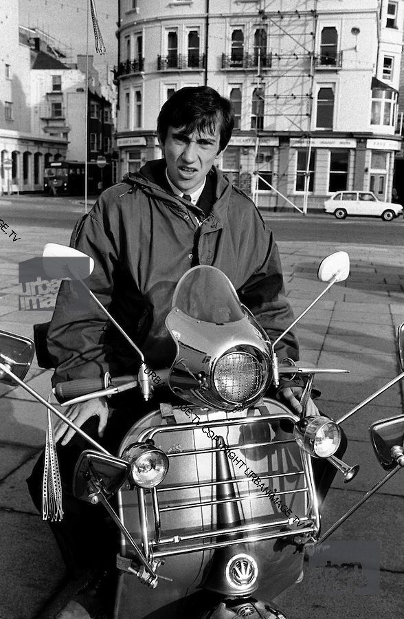 Phil Daniels as Jimmy in Brighton in the 1979 film Quadrophenia