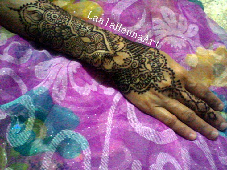 more henna hand #laalahennaart