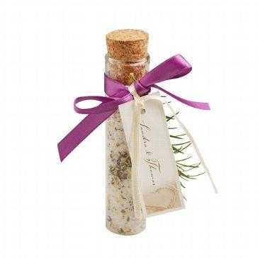 Kräutersalz als Gastgeschenk!!! Suuuuuper Idee!!  dekoratives Glasröhrchen für Gastgeschenke - weddix