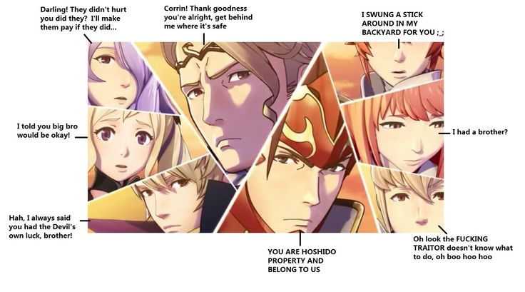 This is sad, but true. The only one I don't agree with is Takumi (and kinda Sakura)