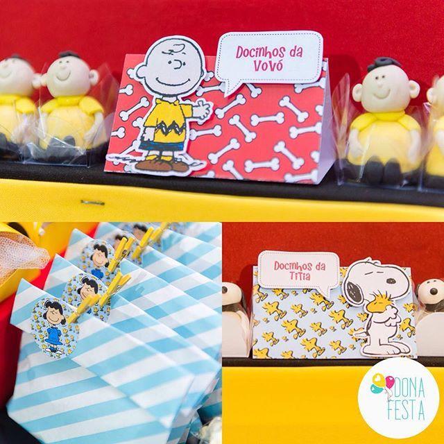 Mimos de papel no tema Snoopy | Crafccino