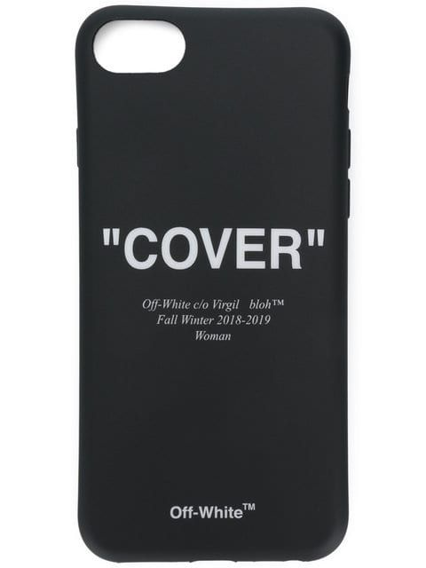 buy online off white \u0027cover\u0027 printed iphone 8 case for $100buy online off white \u0027cover\u0027 printed iphone 8 case for $100 purchase