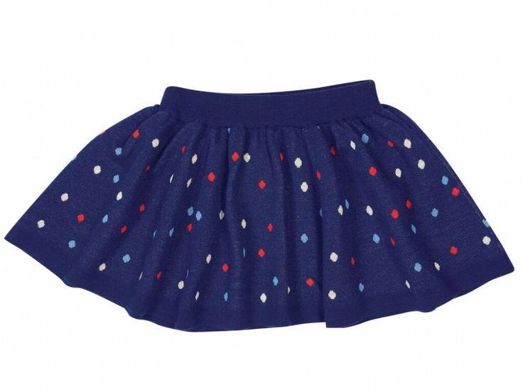 FUB Confetti Skirt Navy fra www.dinengel.no  |