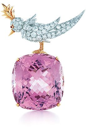 everlasting appeal: Jean Schlumberger's Bird on a Rock, from Tiffany & Co.
