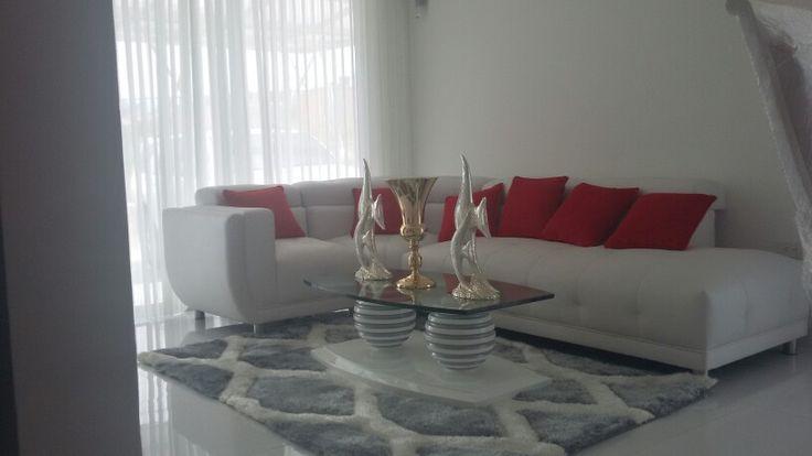 persiana y decoracion sala