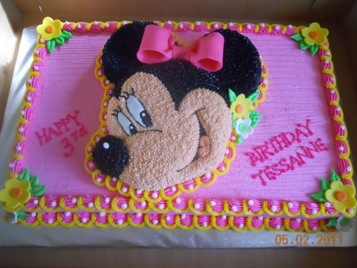 Minnie Mouse Sheet Cake Images : minnie mouse sheet cakes - Bing Images Cakes Pinterest ...