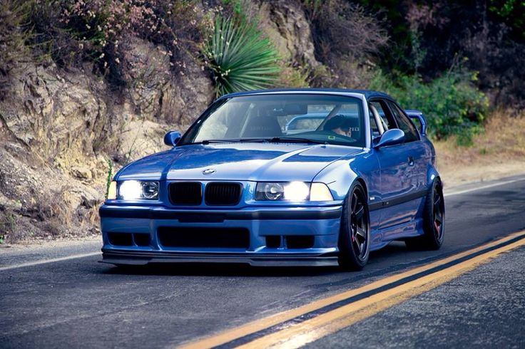 BMW E36 M3, Japanese wheels and bride seats. Love it!